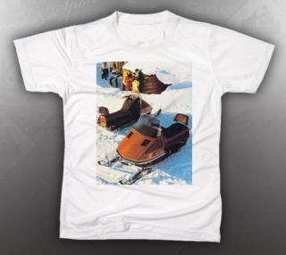 vintage ski doo in Clothing, Shoes & Accessories