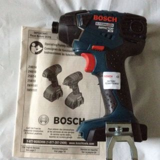 Bosch 25618 18V 18V Lithium Ion Impactor Driver Bare Tool Recon