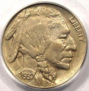 1937 D 3 Legged Buffalo Nickel 5C   PCGS AU58 CAC   RARE 3 Legs Coin