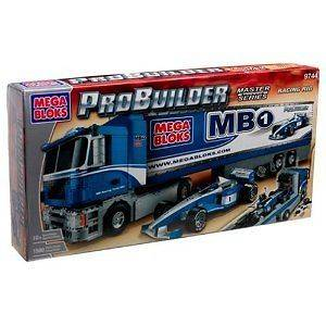 Mega Bloks Pro Builder Racing Rig New MISB