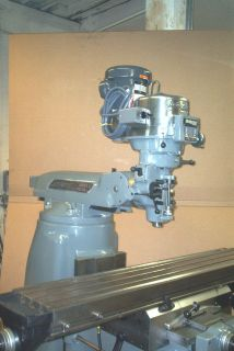 Bridgeport Series II Special Vertical Knee Milling Machine