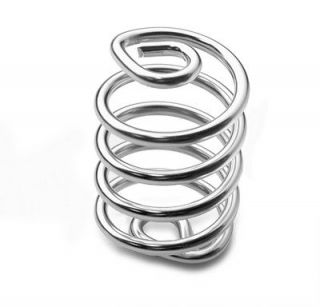 Chrome Solo Seat Springs for Motorcycle Chopper Bobber Harley