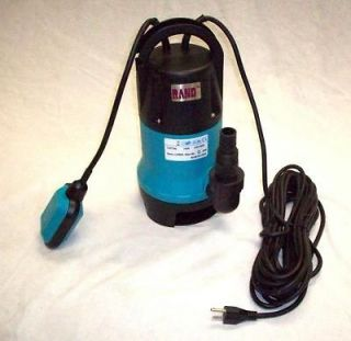 hp Submersible Water Pump/Sump/Pool/Trash/750W/Dirty/Pond/Clear/Clean