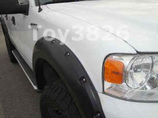 FENDER FLARES 07 11 CHEVY SILVERADO 1500 EXTENDED CAB POCKET RIVET