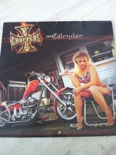 West Coast Choppers Jesse James WCC CFL Calendar 2005