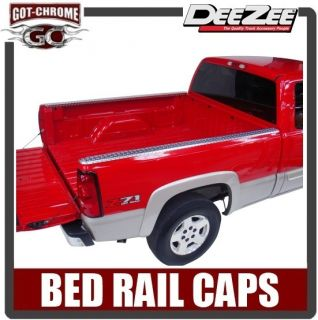 31996 Dee Zee Brite Aluminum Bed Rail Caps Dodge Dakota 6.5 1997 2004