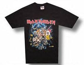 New Iron Maiden Best of the Beast Black X Large T shirt