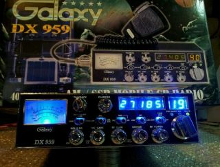 Galaxy 959,Cb Radio,BLUE SWITCHS , Big finals, Super tuned ,Turbo Echo