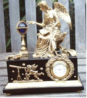 RARE FRANKLIN MINT ANGEL OF NEW AGE MUSEUM CLOCK