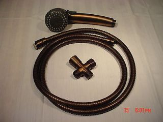 Oil Rubbed Bronze Hand Held Shower Set 69 Hose & wand