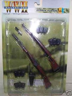 DRAGON WWII GERMAN ARMY KAR 98 K RIFLE SET MIP