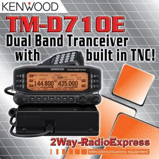 KENWOOD TM D710E DualBander with APRS TNC built in! Unlocked TX RX