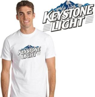 Keystone Light Beer T Shirt   New Choose Size S M L XL 2XL 3XL 4XL 5XL