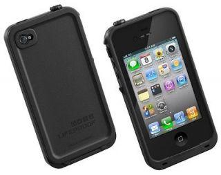 LifeProof iPhone 4 4s Waterproof Case Black 2nd Gen US SELLER SAME DAY