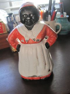 aunt jemima cast iron bank in Cultures & Ethnicities