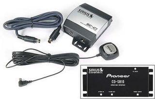 PIONEER SIRIUS SATELLITE RADIO TUNER W/ ANTENNA SIR PNR2 SC C1 CD SB10
