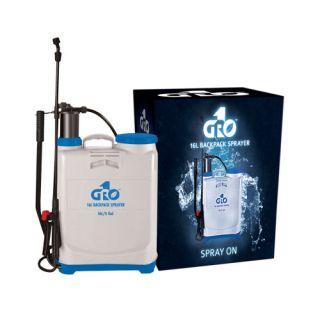GRO1 4 Gallon Hydroponics Heavy Duty Water Fertilizer Backpack Pump