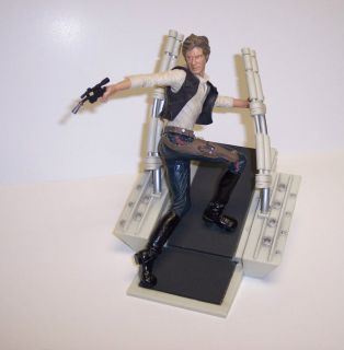 STAR WARS UNLEASHED HAN SOLO FIGURE 2003 HASBRO LOOSE NEAT