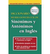 Merriam Webster de Sinonimos y Antonimos En Ingles Merriam Webster