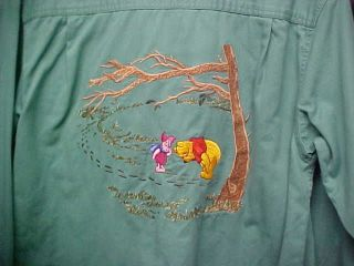 Ladies Winnie the Pooh and Piglet Shirt   Small   EC