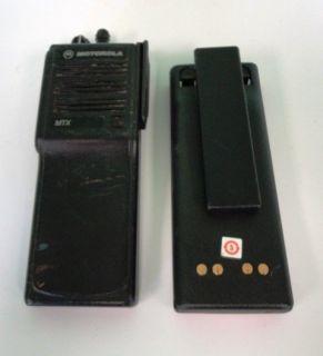 Motorola MTX Handie Talkie FM Radio Model H01UCC6DB3AN NX FCC ID