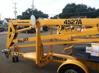 New 2012 Bil Jax 45/27A Towable Boom lift Man In Stock. We will beat