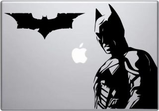 Batman decal   Dark Knight Batman MacBook / laptop vinyl car / window