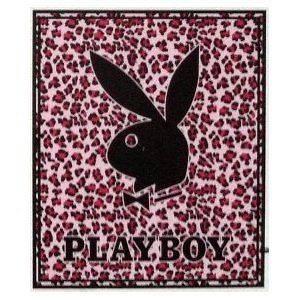 play boy bunny blanket