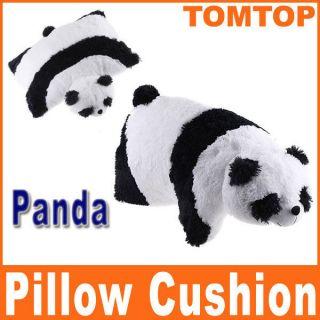 Cushion Soft Cartoon Giant Black White Panda Pet Animal Toy Gift