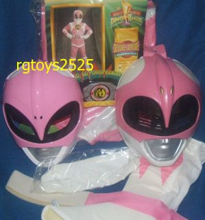 Mighty Morphin Power Rangers Deluxe Pink Ranger Costume Size 7 10 New