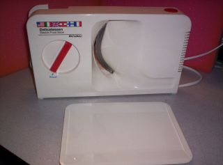 Rival Delicatessen Electric Food Slicer, Model 1040, Made in W