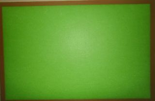 Large 17 x 23 Lime Green Felt Board/Reverse Side Dry Erase & Magnetic