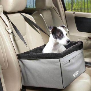 II Pet Car Seat dog cat travel carriers removable sherpa lining  folds