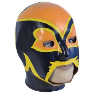 Fancy Dress Party Costume Accessory Full Overhead Face Mask Mexican
