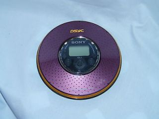 AS IS Sony Portable ATRAC3PLUS  CD Player Walkman PSYC D NE320