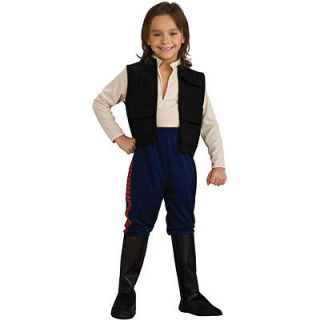 Star Wars Deluxe Han Solo Child Costume han solo,star wars,millenium