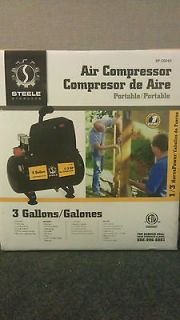 Steele Products SP CE043 3 Gallon Oil less Air Compressor