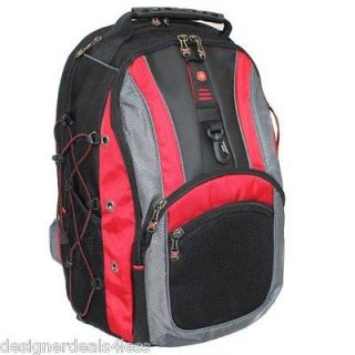 SWISS GEAR ARMY by WENGER HUDSON II 16 LAPTOP COMPUTER BACKPACK GA