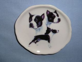 American Staffordshire Terrier Dog Fired Decal Porcelain Magnet 50 3