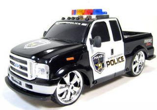 Remote Control 1/14 Ford F 350 Police Truck Car RTR RC