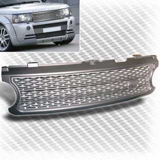 2006 2009 Land Rover Range Rover Silver Front Grille Hood Replacement