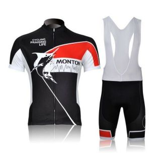 2012 Cycling Bicycle BIKE Comfortable outdoor Jersey + bib Shorts size