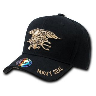Special Force Navy Seal Legend Branch Logo Baseball Caps Red  S001