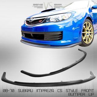 FRONT BUMPER LIP SPOILER BODYKIT (Fits 2009 Subaru Impreza WRX STI