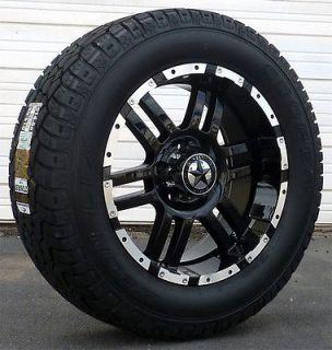 20 Black Wheels & Tires Dodge Truck, Ram 1500, 20x9 Gloss Black 20