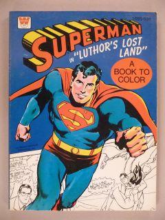superman coloring books