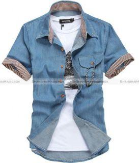 jean shirt in Casual Shirts