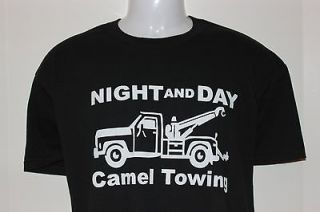 Night and day camel towing Camel toe t shirt funny humorous shirt