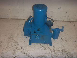 Barnes Hydraulic Power Unit 2 GPM 1.5HP