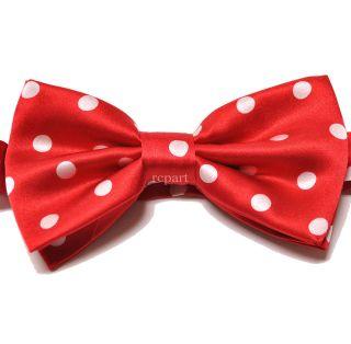polka dots bow ties